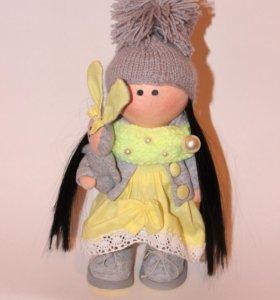 Интерьерная, текстильная куколка