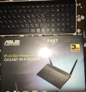 Wi fi router Asus новый не распечатанный