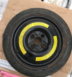 2 диска с резиной  Firestone и Michelin от VW