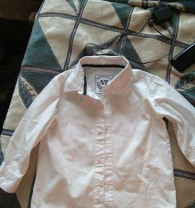 Рубашка белая 92