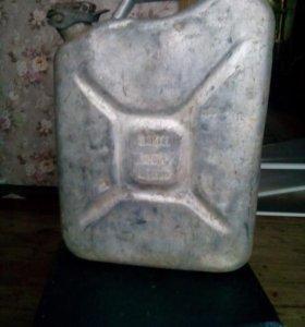 Канистра для бензина 20л алюминиевая