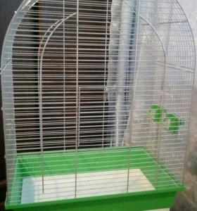 Клетка для попугая в.62см ш.27см д45