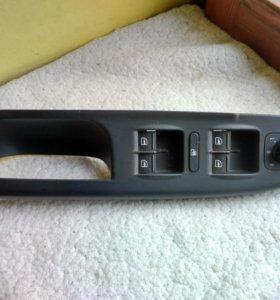 VW Passat B6 ручка водительской двери с кнопками