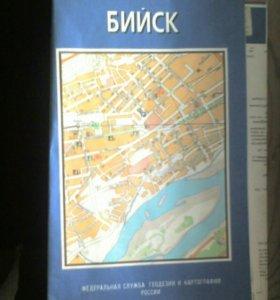 Карта г. Бийск