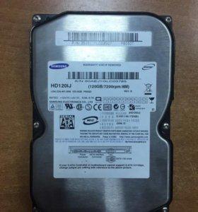Жёсткий диск 120gb 3.5 SATA