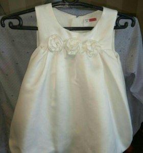 Нарядное платье-баллон