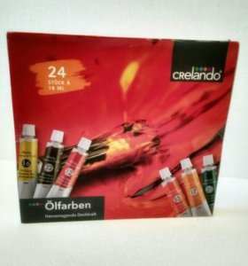 Краски масляные Crelando 24 цвета