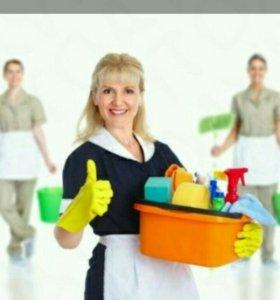 Уборка офисов, квартир, производственных помещен