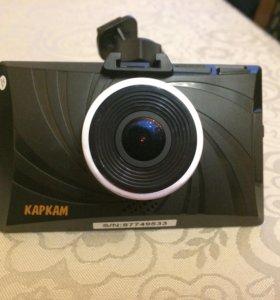 Видеорегистратор Каркам Т3 с картой памяти 16гб