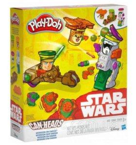 Плей до Звездные войны! Play Doh Star Wars. Hasbro
