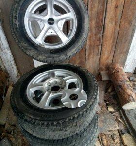 Колеса Bridgestone blizzak mz-03 175/79 R13 82Q