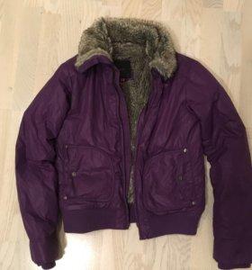 Куртка демисезонная на искусственном меху