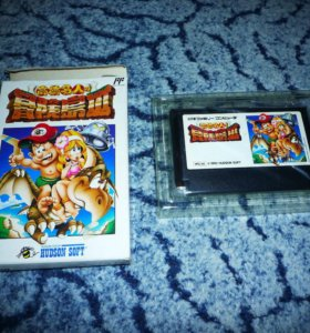 Adventure Island 3 - Famicom Денди Dendy