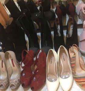 Туфли, балетки, ботильоны, сапоги