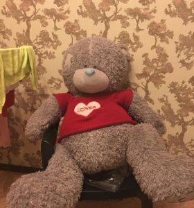 Медведь плюшевый большой 70 см новый