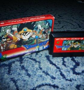 Dragon Quest III - Famicom Денди Dendy