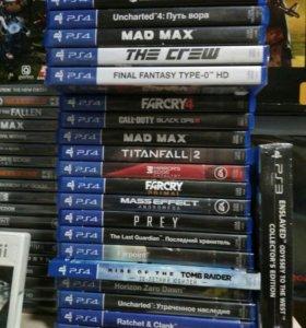 Игры для Playstation PS4