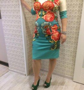 Платье 48-52 ( можно для беременных)