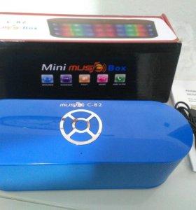 Портативная колонка: C-82 musico Box: новая.