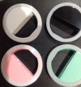 Светодиодное кольцо для фото-селфи