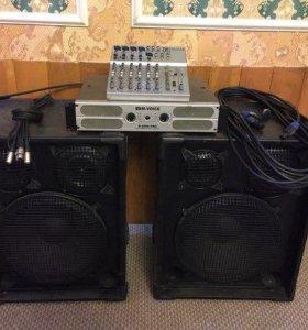 Комплект музыкального аппаратуры