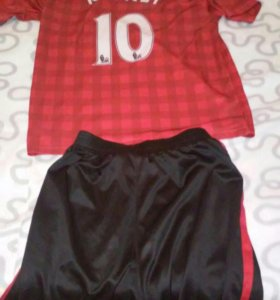 Футбольная форма Манчестер Юнайтед размер 44-46
