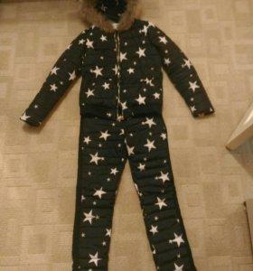 Зимний костюм со звездами