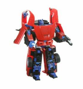 Машина-робот трансформер