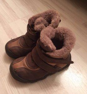 Зимние сапоги 25 размера