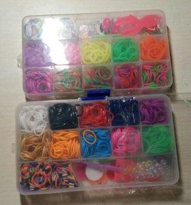 Набор цветных резиночек для плетения