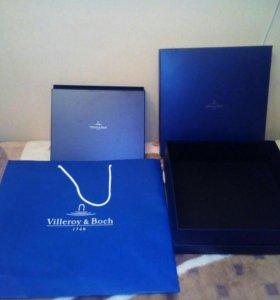 Пакет и коробка фирменная Villeroy Boch