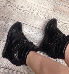 baldinini ботинки зимние сапоги оригинал