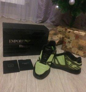 Кроссовки Reebok/Emporio Armani