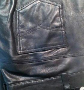 кожаные штаны 50-52 р.