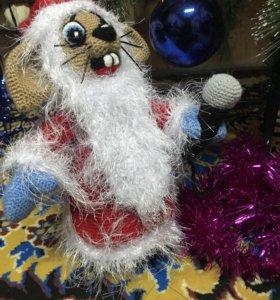 Заяц «Дед Мороз»