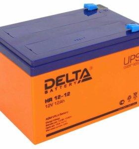 Аккумулятор Delta 12V/12Ah