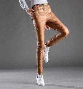 Зимние пуховые брюки