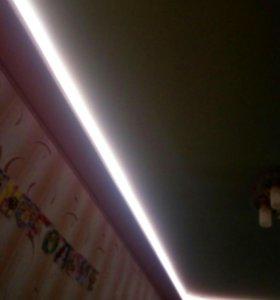 Декоративное оформление светодиодной лентой