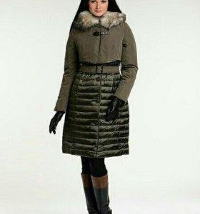 Стильное пальто на пуху Acasta
