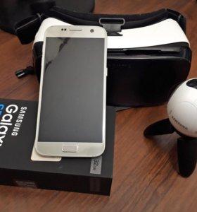 Samsung Galaxy s7+Gear 360+gear vr (мега комплект)
