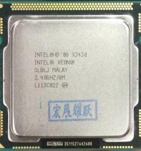 процессор Intel Xeon X3430