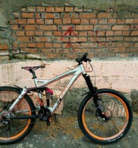 Велосипел горный merida umf freddy one размер L