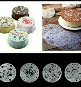 Новые шаблоны для торта
