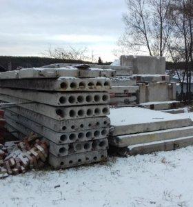 Плиты перекрытия. Фундаментные блоки.