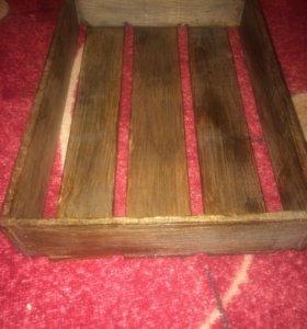 Деревянный ящик, для подарков