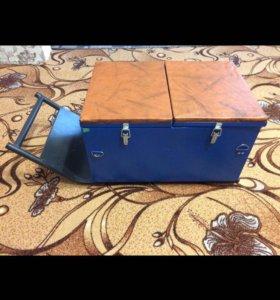 Сани ящик