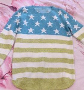 Кофты и блузки (подойдут беременным)