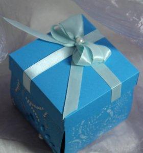 Magic box с кружевным сердцем