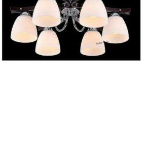 Люстра потолочная 10859/6c palisander