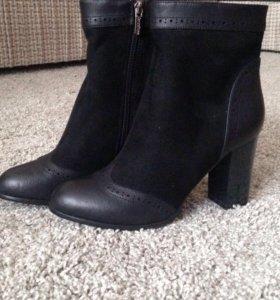Ботинки ( ботильоны) новые